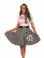 50's Rock 'n' Roll Girl (3627)
